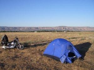 My Off-Road Campsite